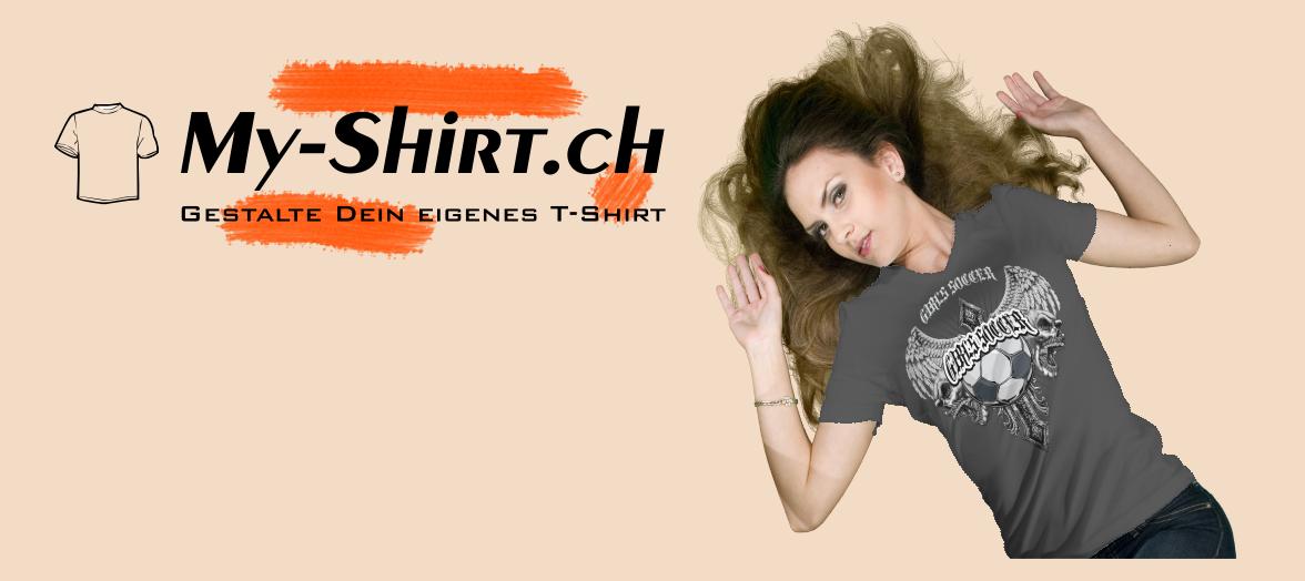 T-Shirt bedrucken aus der Schweiz mit eigenem Design